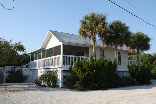 Our home, faces the Gulf - Single family home heated pool beach across street - Boca Grande - rentals