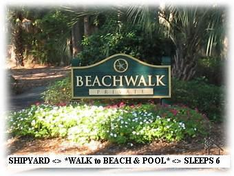 3 Bedrooms - 3 Bathrooms SLEEPS 6 ! - * WALK to SHIPYARD BEACH * 3BR-3BA Sleeps 6 <> HHI - Shipyard Plantation - rentals
