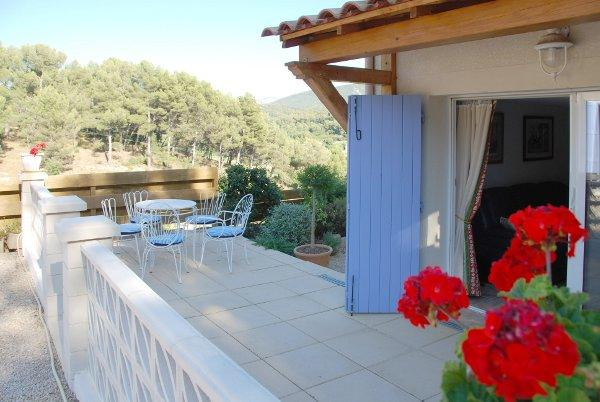 Pretty terrace with view on the hills - Le Balcon d'Auriol - Auriol - rentals