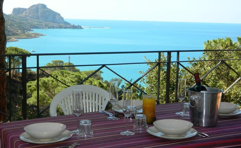 Outside dining area - Baita Pini - Cefalu - rentals