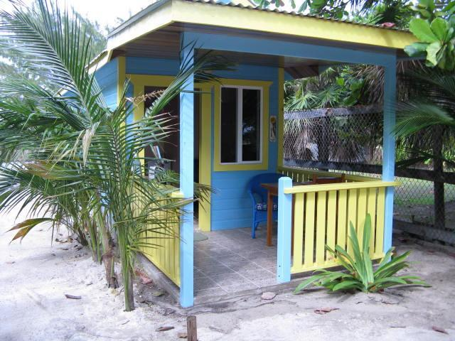 Cute Ocean View  Cabana with a/c - steps to beach. - Image 1 - Caye Caulker - rentals
