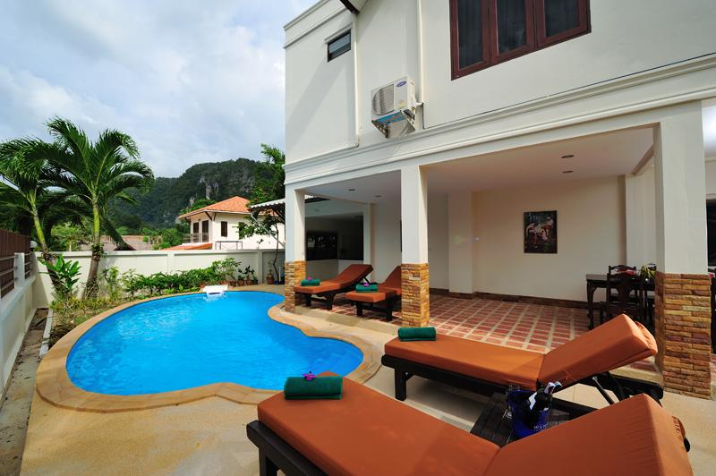 Private Pool House - Baan Ja Id, Krabi Private House Ao Nang Beach - Ao Nang - rentals