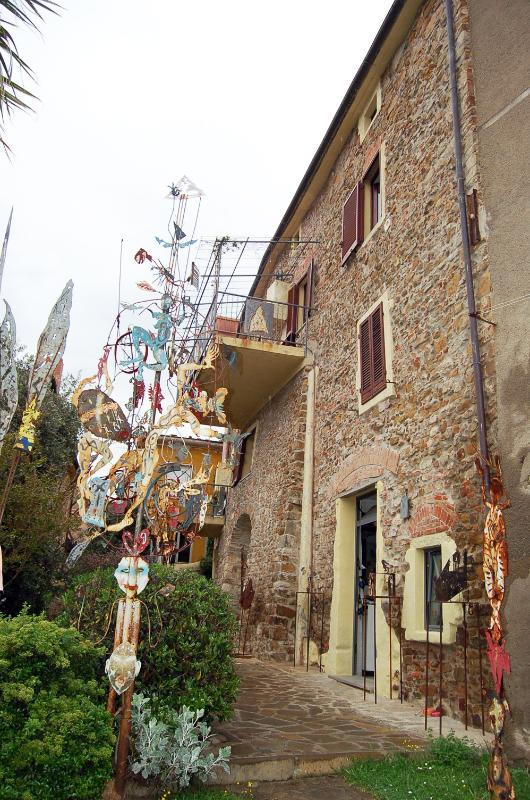 Garden - L'Atelier: a see view flat in the artist's house - Scarlino - rentals