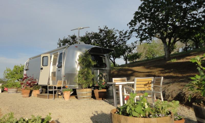 A place in the sun - Airstream at Starr Ranch Vineyard & Winery - Paso Robles - rentals