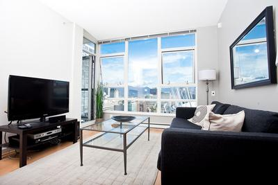 1BR w/Den, Views- Flex Unit MAX2-2905 - Min 30 Days - Image 1 - Vancouver - rentals