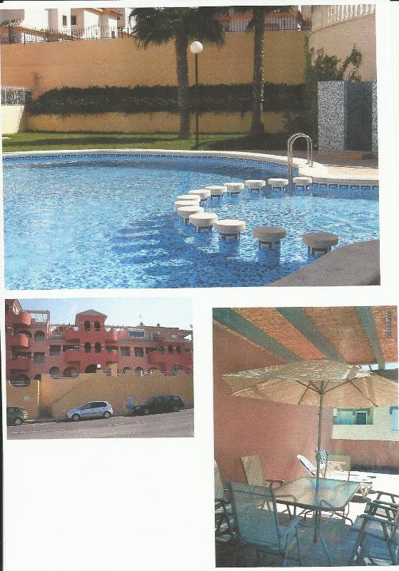 Picture of the pool, the roof terrace and the front of the apartment - Marbella Golf Apartment - Alicante - rentals