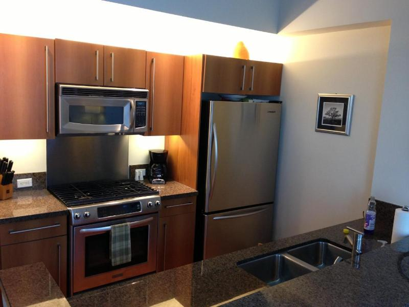 Fully Loaded Kitchen - Dual Level Spacious High Rise, East Village  ICON-1127 - San Diego - rentals