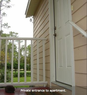 Private entrance  - Quiet Vacation Place near Stetson University - DeLand - rentals