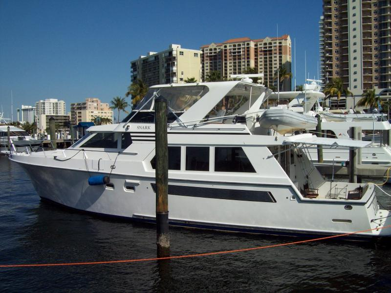 Snark at the dock in Ft Lauderdale - Luxury Yacht Rental on Charleston Harbor - Charleston - rentals