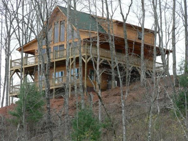 Perched on a 2,000 ft Ridge - Smoky Mountain Luxury Chalet - Murphy - rentals