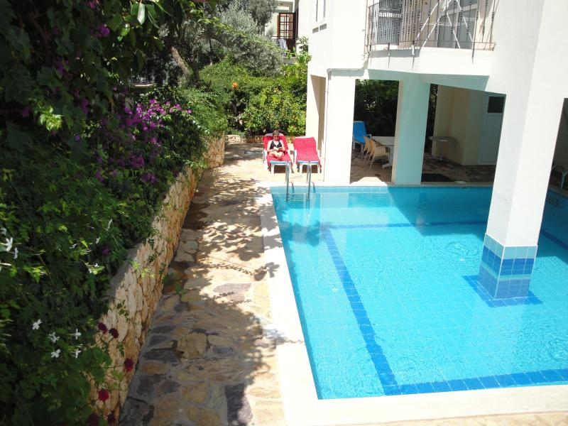 Private and Peaceful Poll Area - Kaan Apartment - Kalkan - rentals