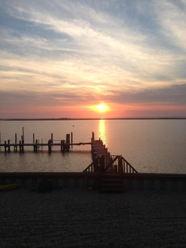 Your Sunset View From Your Deck - Brigantine Bayfront With Boat Slips - Brigantine - rentals