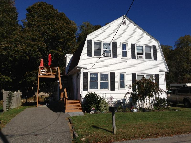 Front of home. Parking on both sides - Overlook on the Cape Cod Canal - Sagamore - rentals