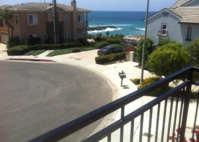 See, Hear and Almost Feel the Ocean (view from one of the Master Bedroom Balconies) - Great House by Tamarack Beach - Carlsbad - rentals