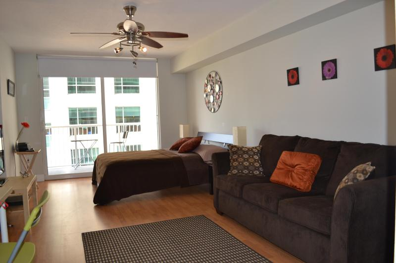 NICE FURNISHED STUDIO AT BRICKELL - Image 1 - Miami - rentals