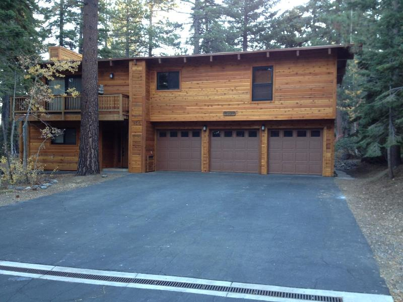 Front of House (2 Garages Available) - Dollar Point Amenities at Beautuful Home - Tahoe City - rentals