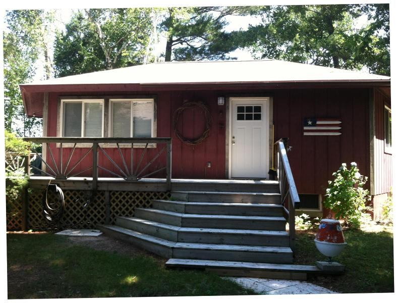 Beach House Exterior - Lake Michigan Waterfront! Pentwater-Silver Lk Area - Mears - rentals