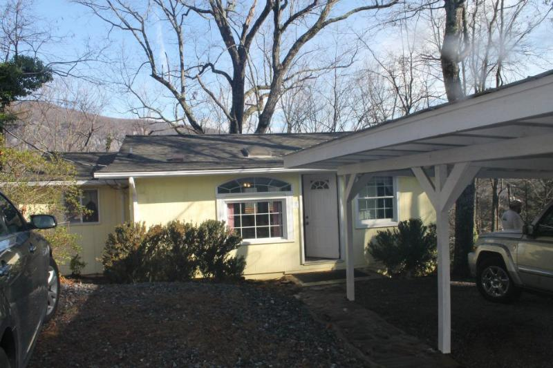 Front Yard - MADE IN THE SHADE - Lake Lure - rentals