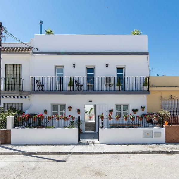 front - Fantastic house near the beach in Chipiona, Spain - Chipiona - rentals