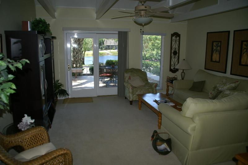 Relax in the family room - Relaxing Dog Friendly Vacation Home - Hilton Head - rentals