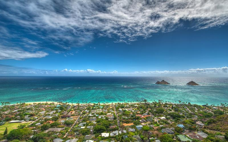 Breezy & Light house great yard, walking to beach - Image 1 - Kailua - rentals