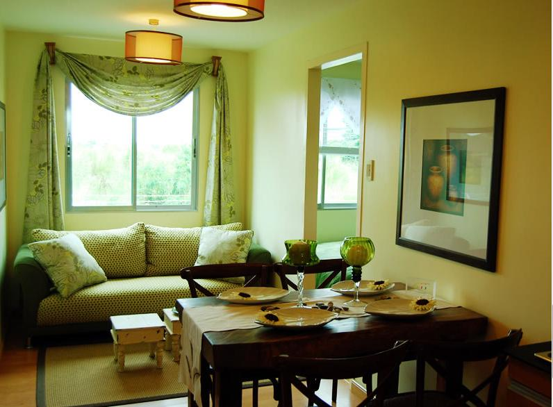 3BR LIVING ROOM - THE MANORS CONDO AT NORTH BELTON COMMUNITIES, QUEZON CITY PHILIPPINES - Quezon City - rentals