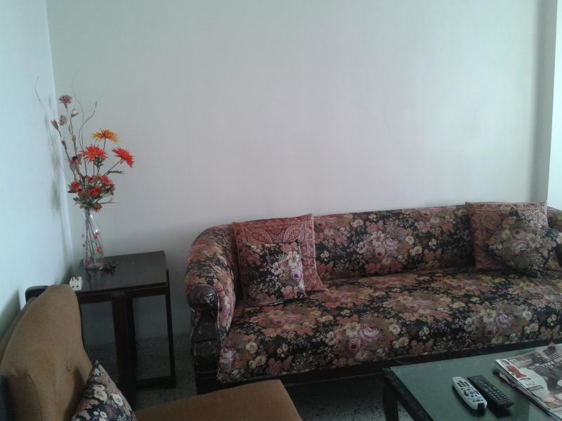 The sitting room - Centrally located Sea facing beautiful 2 bedroom fully furnished apartment. Safe locality close to all amenties. - Mumbai - rentals