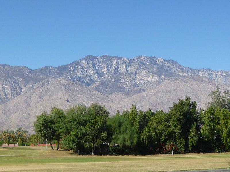View from Front of House - Beautiful Mountain View in South Palm Springs - Palm Springs - rentals