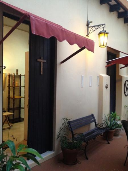 Entrance to Studio from Courtyard - Historic Area Old San Juan PR Studio - San Juan - rentals