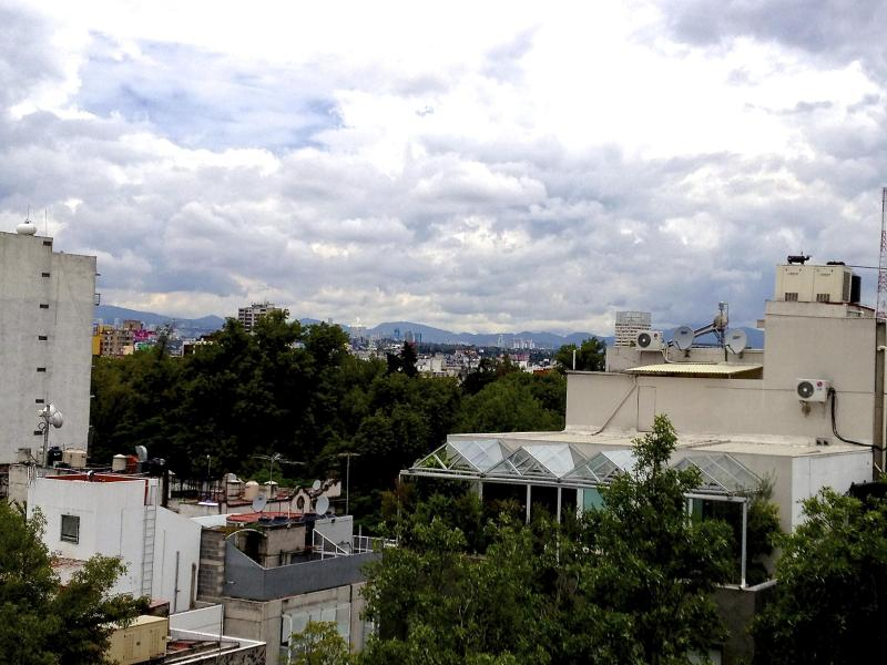 View from the balcony ... - Mexico City Colonia Condesa hip & sophisticated - Mexico City - rentals