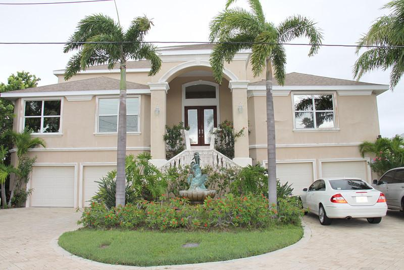 Front , 5 car garage, 9 car drive way - LUXURY HIGH-END WATERFRONT 3 STORY PROPERTY - Clearwater Beach - rentals