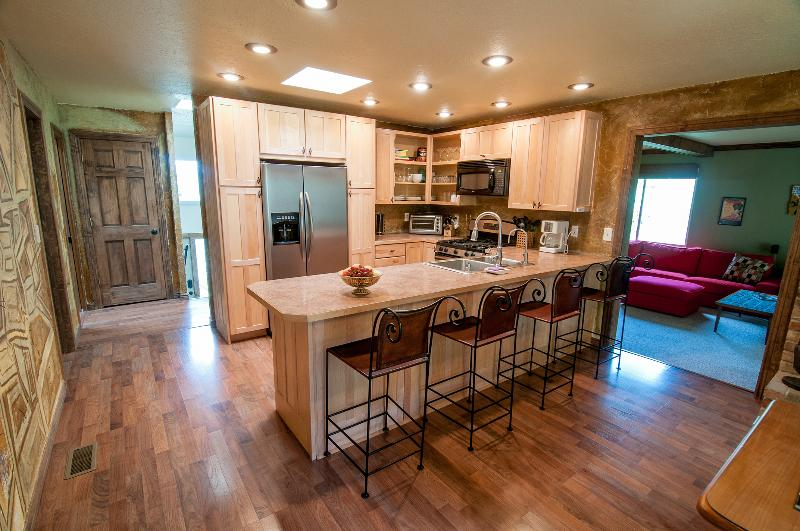 Spacious kitchen with all new appliances - Kings Hill Ski House & Retreat - Cottonwood Heights - rentals