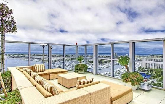 Rooftop terrace with grills - Luxury Living With Ocean Views and Amenities!!! - Marina del Rey - rentals