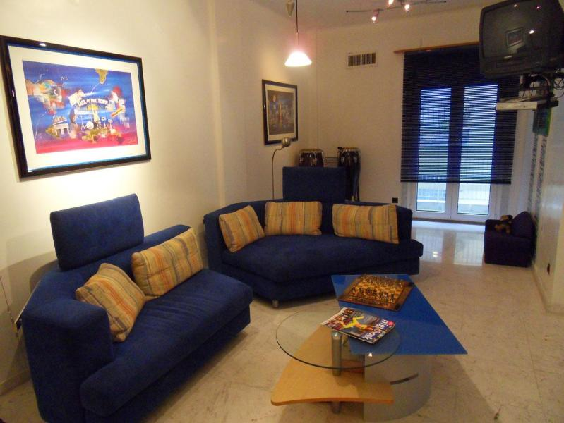 Living room 1 - Romantic Luxury City-Apartment WiFi HighSpeed ADSL - Thessaloniki - rentals