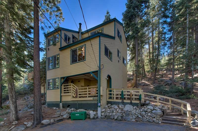 Luxury Tahoe Home with Private Beach, Private Hot Tub and a Boat Buoy (ZH04) - Image 1 - Zephyr Cove - rentals