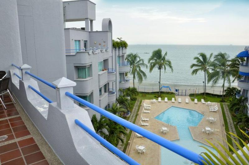 Ocean view from apartment - Santa Marta 200 m2 Penthouse - Norwegian owners - Santa Marta - rentals
