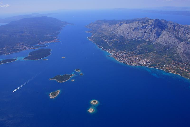 Beautiful aerial view of Orebic,Korcula and Islands - Welcome to Apartment Natalie - Orebic - rentals