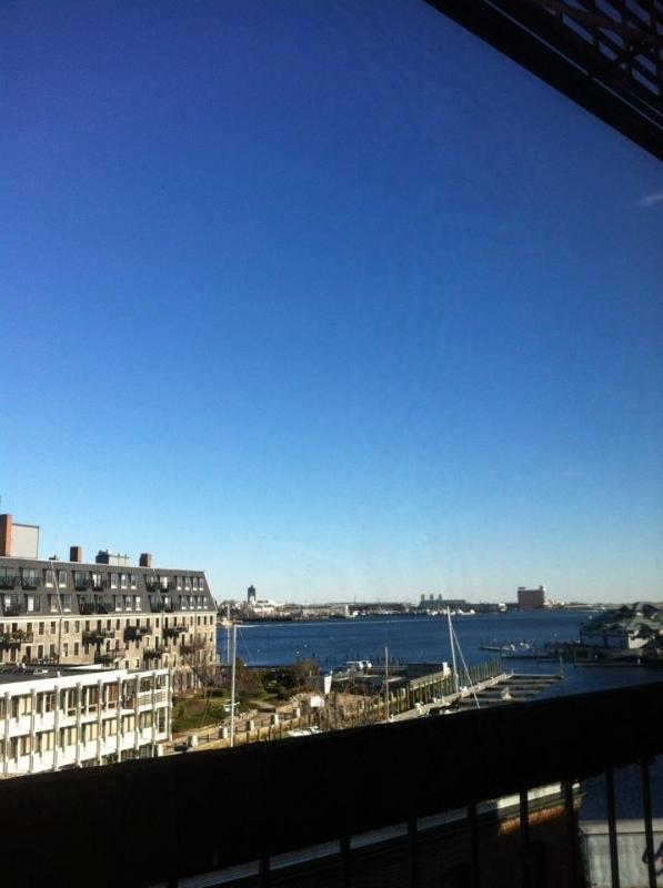 View from apartment  - NORTH END - Cute 1 Bedroom with Waterfront Views - Boston - rentals