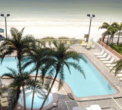Pool & Hot Tub Directly on Gulf (Ocean Front)! - 3Bed, 3Bath Direct Gulf Front Condo w Huge Balcony in North Redington Beach, FL (South of Clearwater Beach) - North Redington Beach - rentals