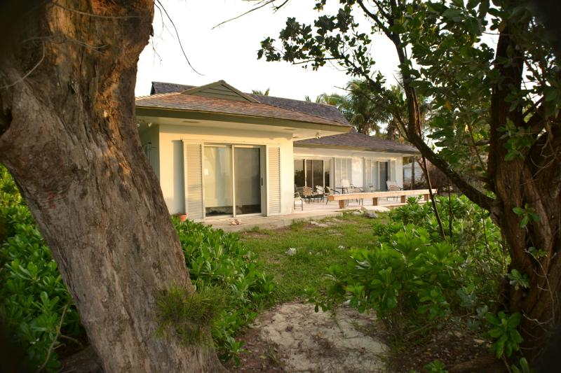 From the beach, just steps away from home - Spectacular Beach house in Tranquil Treasure Cay!! - Treasure Cay - rentals
