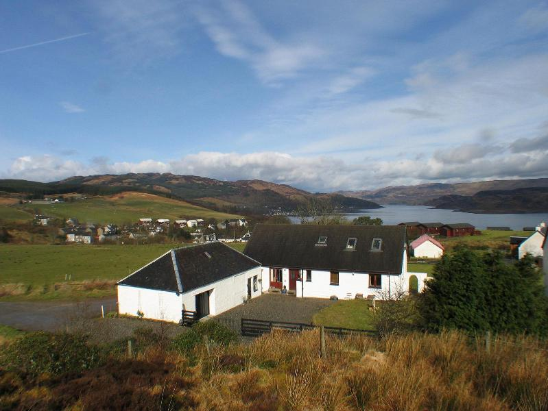 Fourwinds and the wonderful view looking towards the Kyles of Bute - Fourwinds Holiday Cottage, Argyll, Scotland - Tighnabruaich - rentals