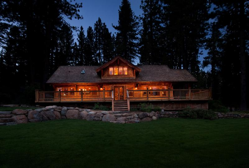 View of the House from the Yard - The Lakehouse - Tahoe City - rentals
