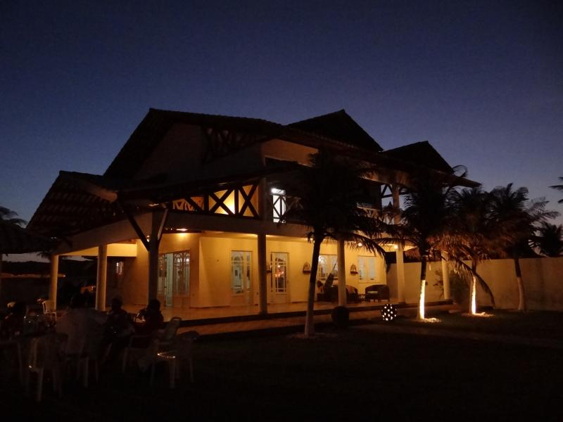 House at night - Beach front villa in secluded area - Fortaleza - rentals