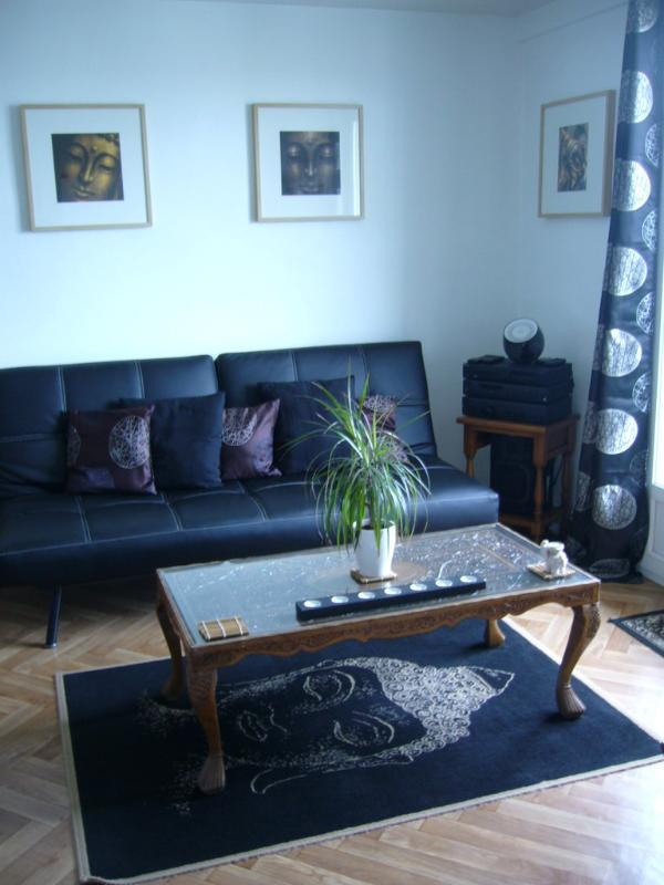 Living room area - 2 bedrooms flat with balcony in Toulouse France - Toulouse - rentals