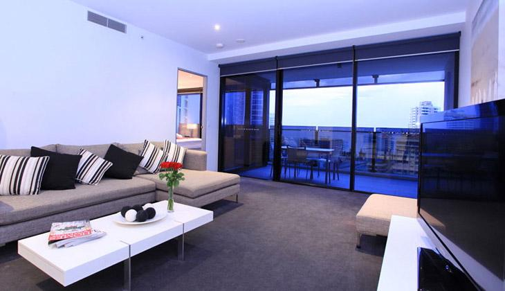 Circle on Cavill 1 Bedroom Plus Study - Circle on Cavill Apartment in Surfers Paradise - Surfers Paradise - rentals