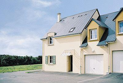 House front view - Normandy Holiday Cottage near to Omaha Beach - Port-en-Bessin-Huppain - rentals