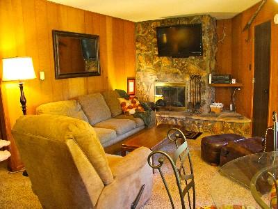 Living Area - Comfy Angel Fire Mountain Condo-$499/1 week stay! - Angel Fire - rentals