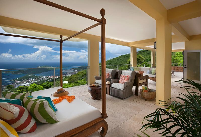 OUTRIGGER HOUSE  Brand New! - Fabulous Harbor View - Image 1 - Saint Thomas - rentals