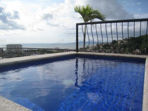 Pool with Ocean View, Mountain View, and City View - Amazing View Condo in Old Town Puerto Vallarta - Puerto Vallarta - rentals