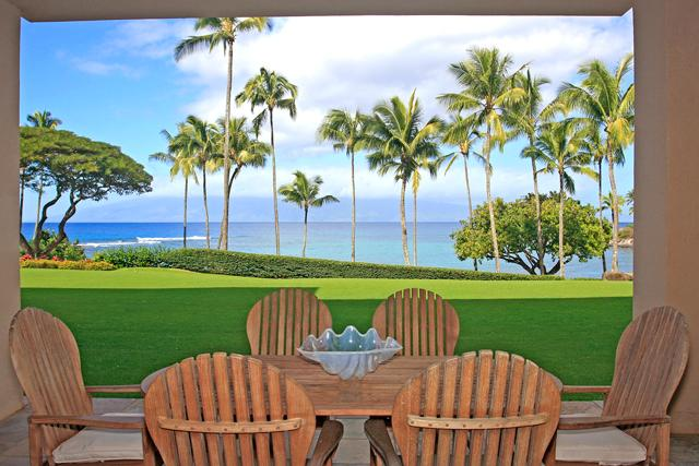View from the Lanai! - Ultimate Beachfront Luxury with Stunning Views! - Kapalua - rentals